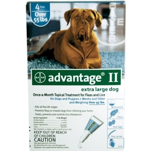 Advantage II for Extra-Large Dogs