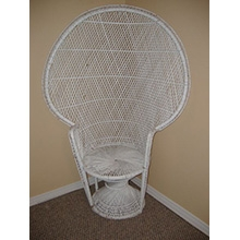 Wicker (Peacock) Chair