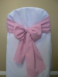 Chair Sash - Light Pink