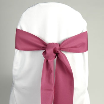 Chair Sash - Magenta