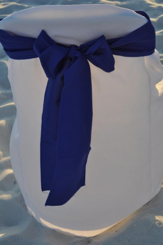 Chair Sash - Royal Blue
