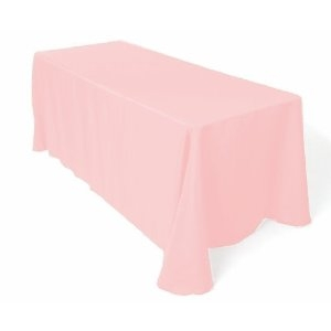 Tablecloth, Light Pink Long 60x120