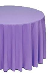 Tablecloth, Amethyst Round 96