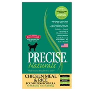 Precise® Naturals Chicken Meal & Rice Foundation Formula