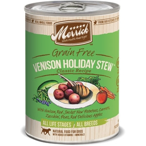 Classic Grain Free Venison Holiday Stew™