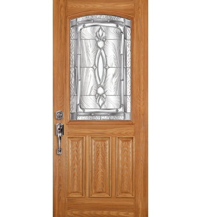 Barrington Fiberglass Entrance Door