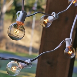 Edison Bulb, Globe Lights, 25 ft