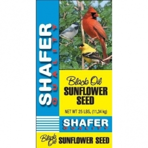 Shafer Seed Company Sunflower Seed 100% Oil 25 Pound