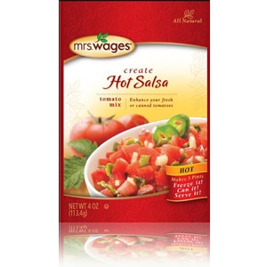 Hot Salsa Mix 4 Ounce