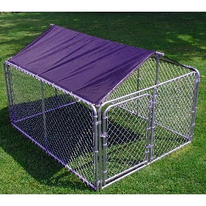 Stephens Pipe & Steel Quickshelter Kennel Roof Kit 6 x 8 Ft.