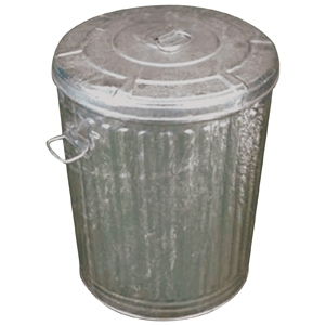 Dover Parkersburg Metal Trash can