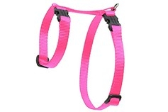 Small Dog and Cat Traditional Solids H-Style Harness