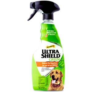 Absorbine UltraShield Natural Fly Repellent for Use on All Dogs