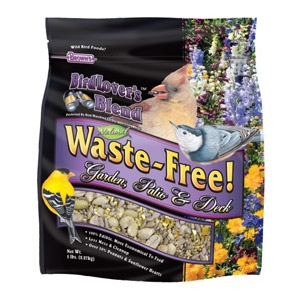 Bird Lover's Blend™ Waste-Free! Garden, Patio & Deck Bird Seed