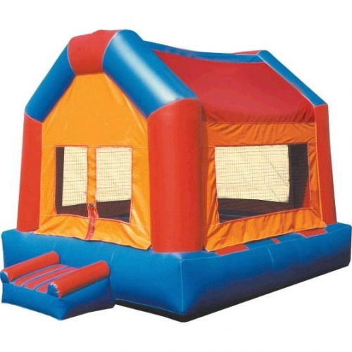 Inflateable fun house bounce house