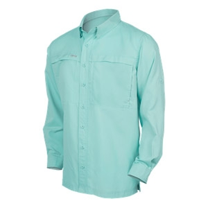Game Guard Coastal Green MicroFiber Shirt L/S