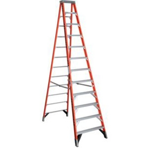 Fiberglass Step Ladder - 12 Ft.