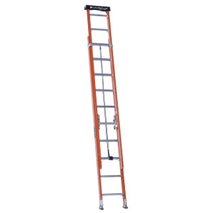 Fiberglass Extension Ladder - 24 Ft.