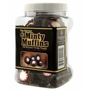 The German Minty Muffins Horse Treats