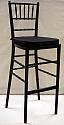 Black Chiavari Bar Stool/Chair