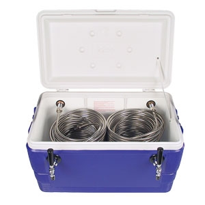 Double Beer Tap Coil Cooler