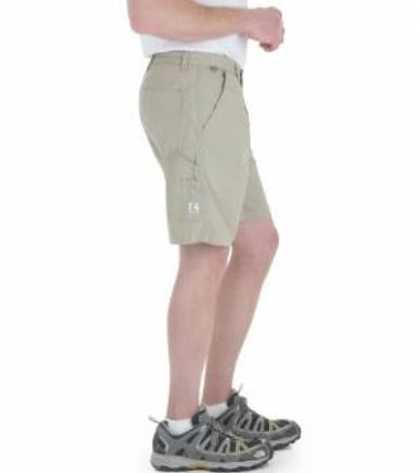 36344 Wrangler Rugged Wear® Relaxed Fit Khaki Angler Short