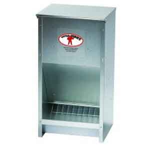 Little Giant® Galvanized High Capacity Poultry Feeder