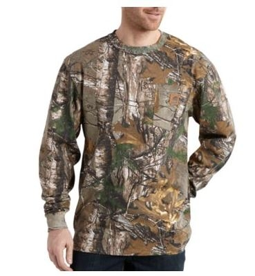 Carhartt Realtree Xtra Camo Long-Sleeve T-Shirt