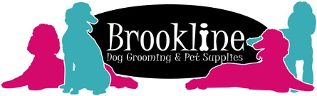 Brookline Dog Grooming Logo