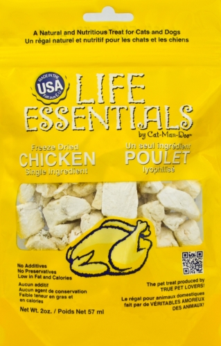 Life Essentials Freeze Dried Chicken by Cat-Man-Doo