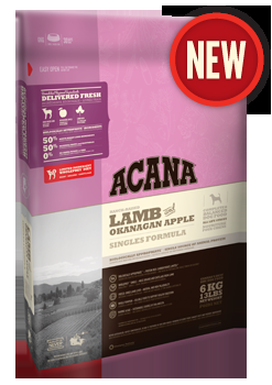 Acana Lamb & Okanagan Apple Dog Food 25#