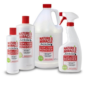 Nature's Miracle Just for Cats - Cat Stain & Odor Remover
