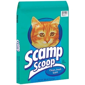 Scamp Scoopable Cat Litter