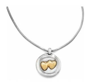 Sealed Hearts Necklace