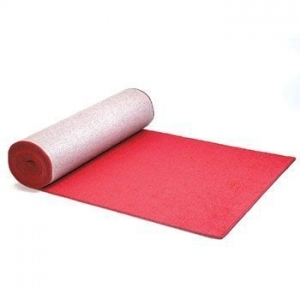Event Carpet, 4'x25' Red Carpet