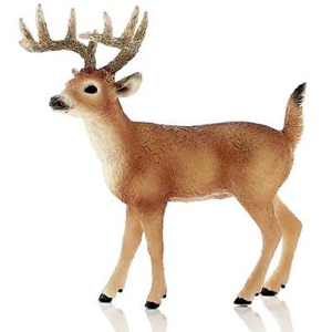 Schleich Toy Store White Tailed Buck 2014 Figurine Toy