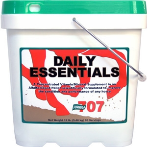 Formula 707 Daily Essentials Pellets