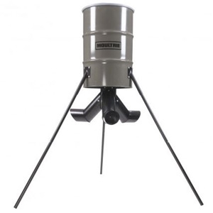 Moultrie 55 Gallon Protein Tripod Deer Feeder | R&J Feed Supply