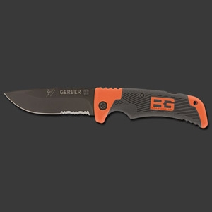 Gerber Bear Grylls Survival Series Scout Drop Point Serrated Knife