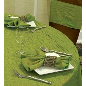 Krinkle Table Linen
