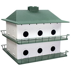 12-Room Purple Martin Bird House