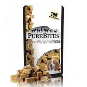 PureBites® Freeze Dried Bison Liver Treats