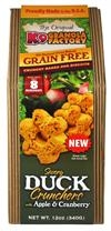 K9 Granola Grain Free Duck Crunchers W/ Apple & Cranberry