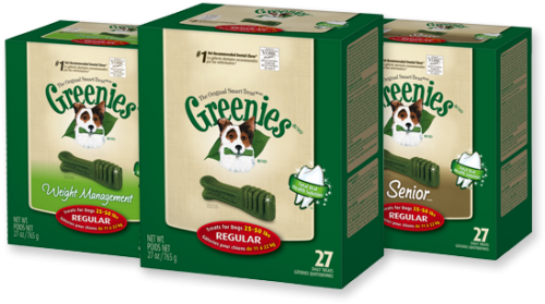 GREENIES® Dental Chews Value Size Tub 36oz Teenie®