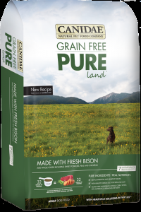 Canidae Pure Land with Bison 4 lb.