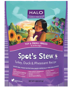 Halo Spot's Stew Small Breed Turkey, Duck, & Pheasant Dog 10 lb.