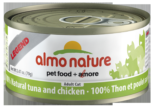 100% Natural Tuna and Chicken Wet Cat Food