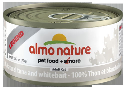 100% Natural Tuna and Whitebait Wet Cat Food