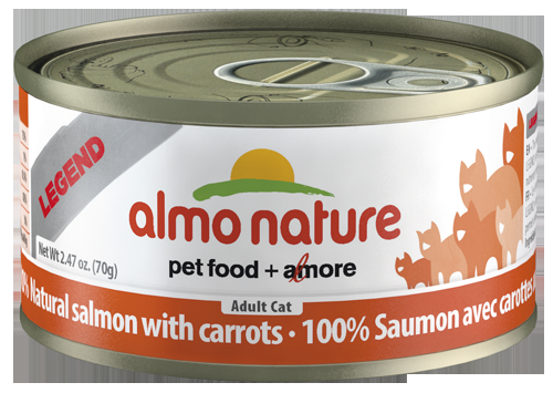 100% Salmon with Carrots Wet Cat Food