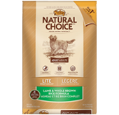 Nutro Natural Choice Lite Lamb/Brown Rice  15 lb
